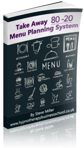 Take Away 80-20 Menu Planning System-ebook